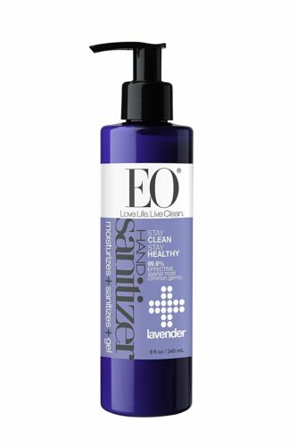 Eo Products Hand Sanitizing Gel Lavender Essential Oil 8 Fl