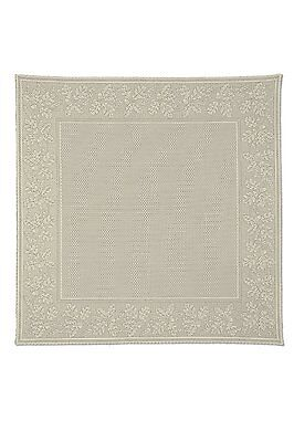 Heritage Lace Table TOPPER Oak Leaf Tablecloth CAFE 58x58 SQUARE Made in USA for sale  Shipping to Canada