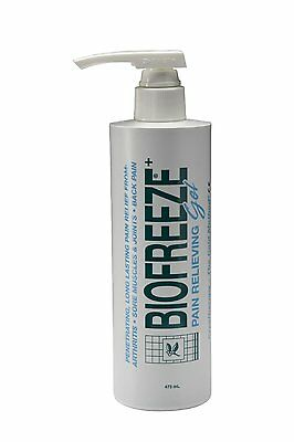 Biofreeze pain Relieving Gel Pump 473ml 16oz