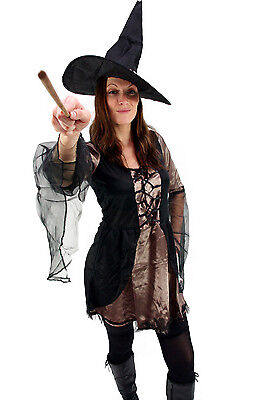 Kostüm: SEXY Hexe Fee WICKED Witch Walpurgisnacht Mittelalter Gr. 38 NEU