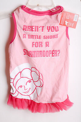 Dog Costume Star Wars Princess Lei Stormtroopers Pink Tutu Petco Arent You Short](Pink Stormtrooper Costume)