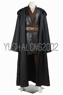 Star Wars Episode Anakin Skywalker jedi Knight Cosplay Kostüm Costume Outfit (Star Wars Jedi Knight Kostüm)