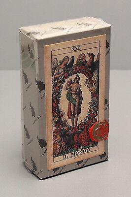TAROCCO SOPRAFINO - 1835 DELLA ROCCA REPLICA TAROT CARD DECK - SEALED - NIB