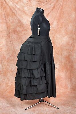 Tournüre Unterrock Bustle Victorian historisch maßgeschneidert Größe - Tournure Kostüm