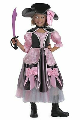 Pink Pirate Princess Costume (Chasing Fireflies PRINCESS PARADISE VIVIAN PIRATE Costume Girls Size10)