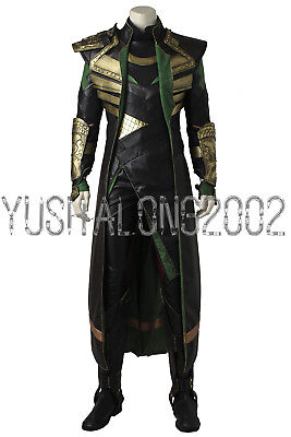 Thor The Dark World Loki Cosplay Kostüme costume Halloween set Film Movie 2
