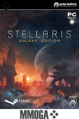 Stellaris - Galaxy Edition Key - Steam PC Strategie Spiel Download Code [DE/EU]
