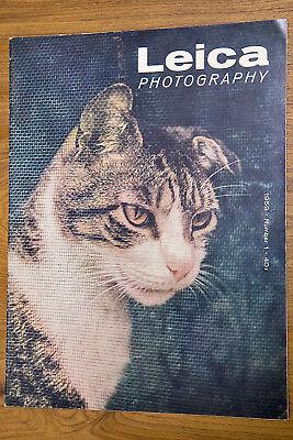 VERY NICE Leica Photography Magazine 1959 Volume 12 No.1