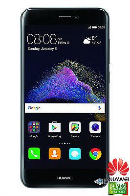 """华为P8 LITE 2017 16GB BLACK BLACK 3GB RAM 4G 5.2""""12MPX NFC意大利品牌16 GB"""