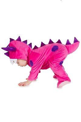 Baby Mädchen Rosa Monster Anzug Kostüm Alter 6 12 18 24 Monate 2 3 Jahre