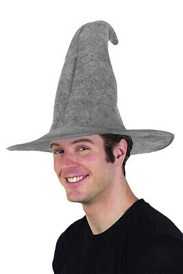 Gray Gandalf Wizard Merlin Hat Adult Lord Rings Hobbit Costume LOTR Cap](Gandalf Hat)