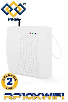 RIPETITORE Segnale Radio FREQUENZA 433 MHz per SISTEMI DI ALLARME E SENSORI