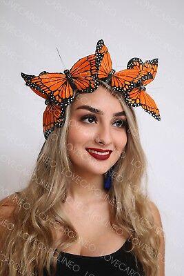 Monarch Butterfly Headpiece Butterflies Crown Headband Headpiece Halloween Fairy - Butterfly Headpiece