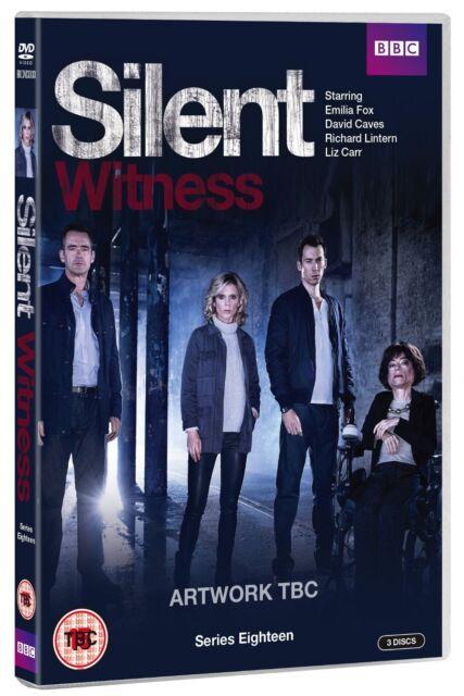 Silent Witness Series 18 Season Eighteen Region 4 New DVD (3 Discs)