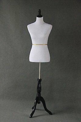 Adjustable Dress Form Mannequin Small Petite Slim Women Sewing Tripod Stand New