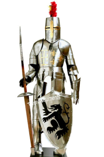 Medieval Knight Suit of Armor 16th Century Larp Full Body Armor Suit