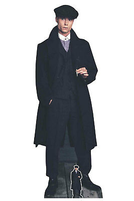 Peaky Blinder Style Gangster Smoking Lifesize and Mini Cardboard Cutout - 1920's](1920s Mobster Fashion)