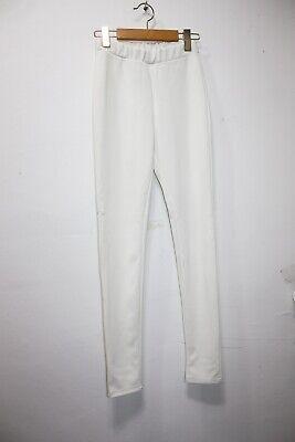 No.5 Womens clothing elastic waist ivory legging slim pants US SIZE XS~S