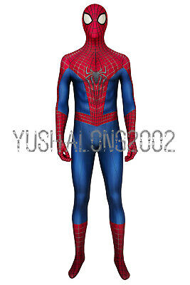 The Amazing Spider-Man 2 Spiderman Peter Cosplay Kostüm Costume Outfit - Amazing Spiderman 2 Kostüm