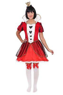 Frau Mad Hatter Kostüm (WUNDERLAND FRAUEN MAD HATTER ERWACHSENENKOSTÜM VERKLEIDUNG BUCHWOCHE FASCHING KA)