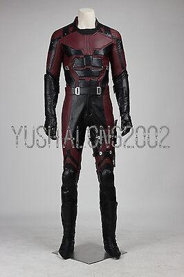 Daredevil Matt Murdock Cosplay Kostüm Halloween Costume + Maske Schuhe set