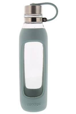 Contigo Purity Glass Water Bottle with Protective Silicone S