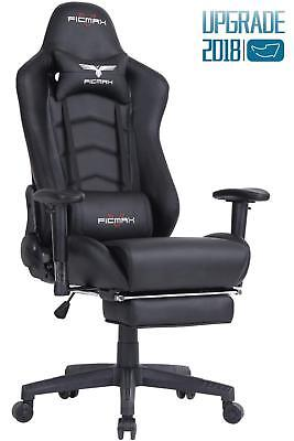 Details about Ficmax Ergonomic Gaming Chair Racing Style Office Chair  Recliner Computer Cha...