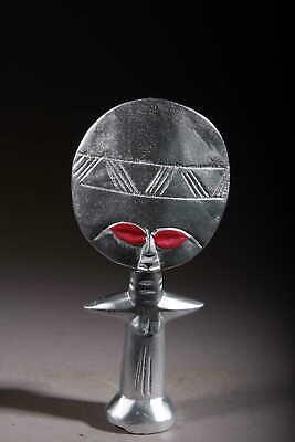 Art Contemporary African Doll Ashanti Silver 120