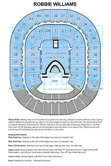 2 x ROBBIE WILLIAMS *INNER PIT TICKETS* MELBOURNE Coburg Moreland Area Preview