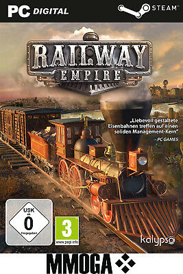 Railway Empire Key - PC Spiel - Steam Download Code [Simulation] [EU/DE]