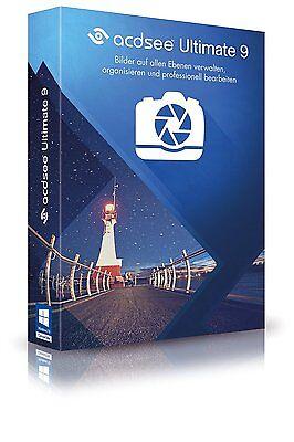 ACDSee Ultimate 9 Box deutsch CD/DVD EAN 4025461004523 inkl. Driver Genius 12 CD online kaufen
