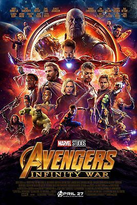Avengers Infinity War   One Sheet Movie Poster 24X36   52709