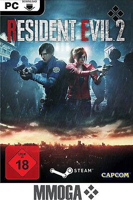 Resident Evil 2 Remake - PC Spiele Code - STEAM Download Key NEU RE:2