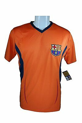 6993159c1af FC Barcelona Soccer Official Adult Poly Jersey P004 Rhinox -M