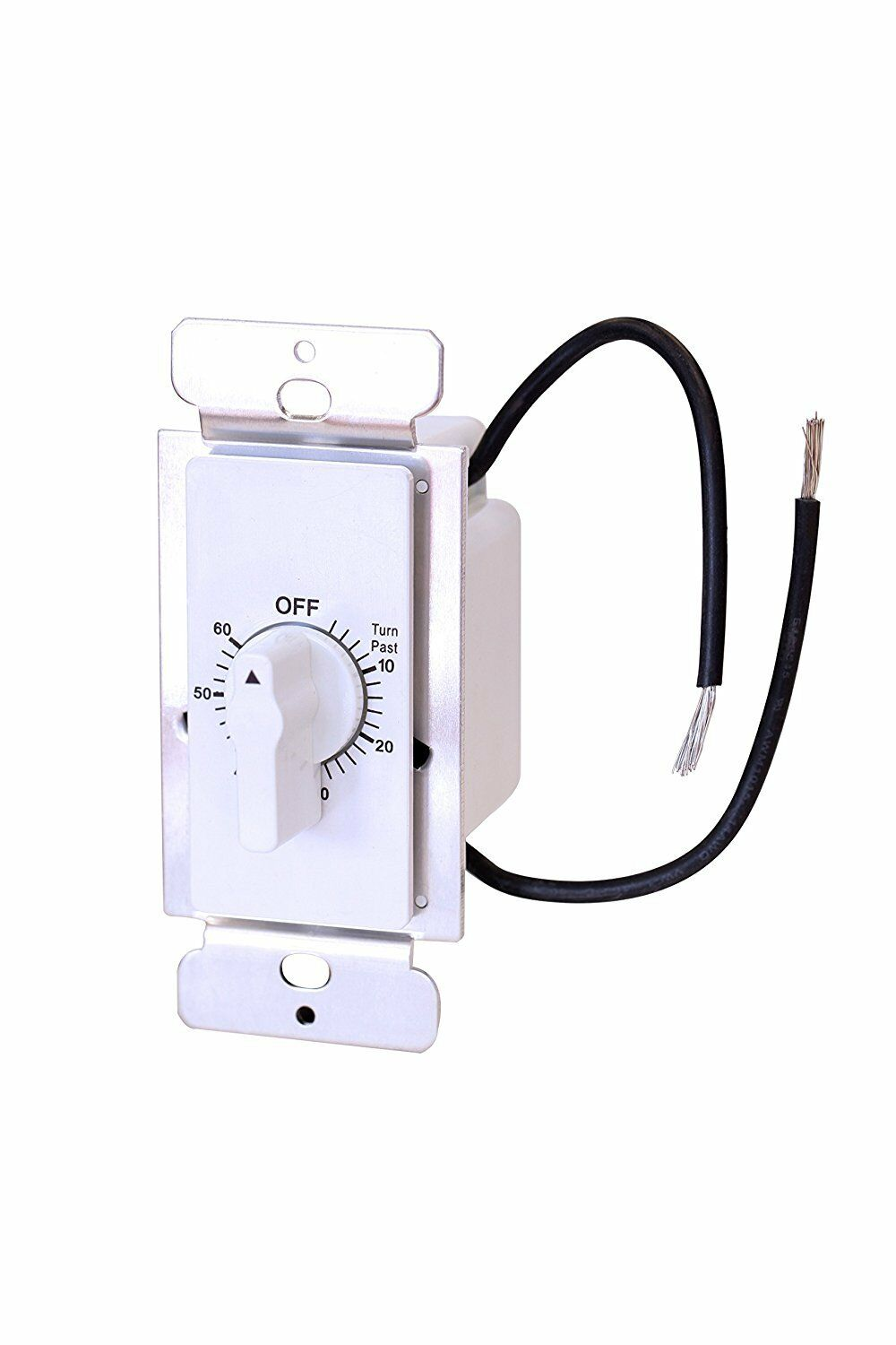 Century 60-Minute In-Wall Spring Wound Loaded Countdown Timer Mechanical Switch