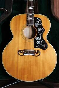 Gibson SJ-200 Antique Natural Acoustic Guitar 1993 Pre-Owned Mount Lawley Stirling Area Preview