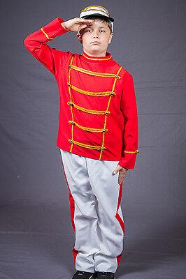 128 - 152 Soldat Weihnacht Offizier Maus Fasching 1210187G13 (Männliche Maus Kostüm)
