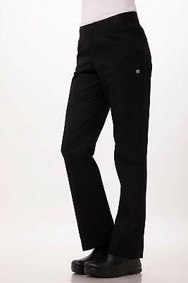 Chef Works Womens Lightweight Slim Fit Pants Black Size 2xl