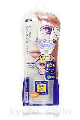 D-UP Wonder Eyelid Tape (Extra) 120 pcs JAPAN