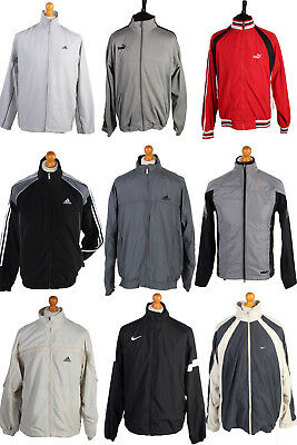 - ADIDAS PUMA REEBOK NIKE TRACKSUIT TOPS WHOLESALE X25 JOB LOT VINTAGE