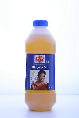Gingelly Oil / Sesame Oil Premium Quality 777 Brand Bulk 1 Liter Bottle