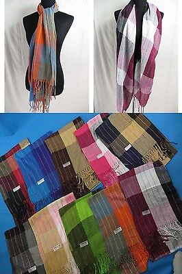 Wholesale Lot of 12 soft mens scarf pashmina scarves shawl wrap stole