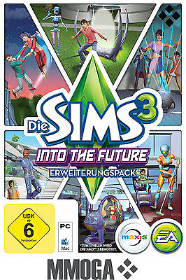 Die Sims 3 Into the Future Key EA/ORIGIN Download Code [PC] [DE] [NEU] - Add-on (Sims 3 Downloads)