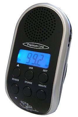 Fahrradradio BR 24 mit PLL-Tuner + MP3 Anschluss  + LCD Anzeige + Uhr Radio ()