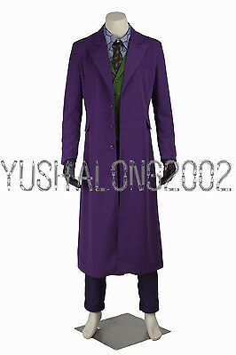 Batman Dark Knight Cosplay Kostüme Costume Halloween Joker Uniform Outfit neu