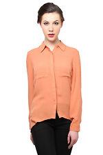 Moderno Brown Double Pocket Shirt (MOD098_Brown)