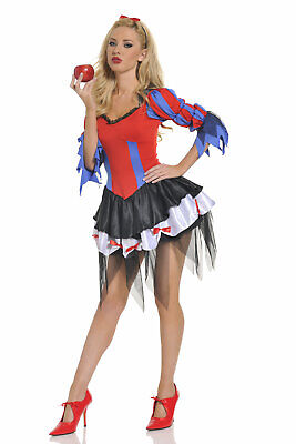 Sexy Adult Halloween Seven 'Til Midnight Bad Apple Snow White Costume sz Medium](Seven Til Midnight Halloween Costumes)