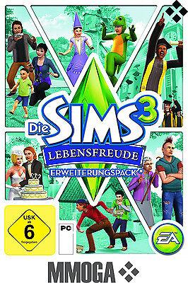 Die Sims 3 - Lebensfreude / Generations ORIGIN Download Code [PC][DE][EA] Addon (Sims 3 Downloads)