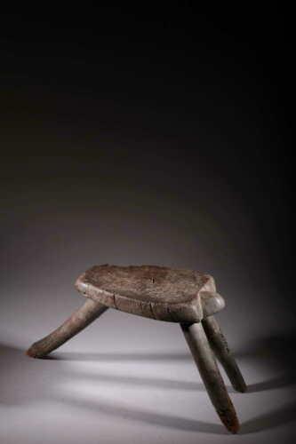 Art African Stool Lobi 88