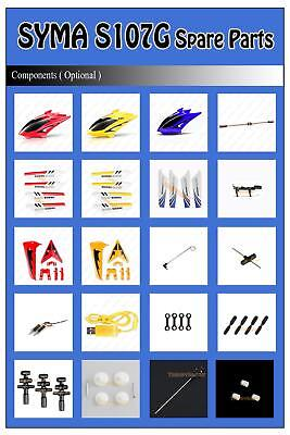 R/C Syma S107 S107G S107C Remote Control 3CH Helicopter Spare Parts Accessories